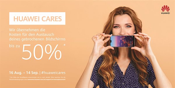 Huawei Cares Service Campaign