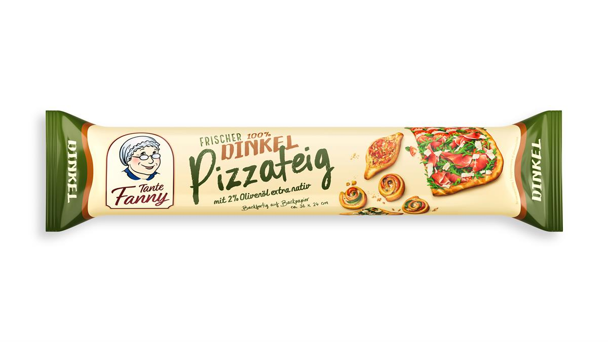 Tante Fanny Dinkel Pizzateig Verpackung