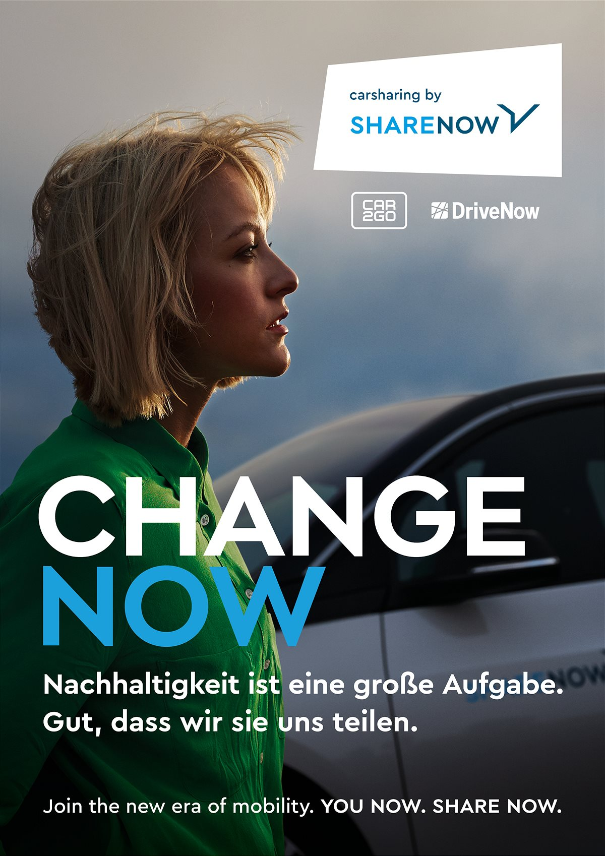 SHARE NOW Marketingkampagne
