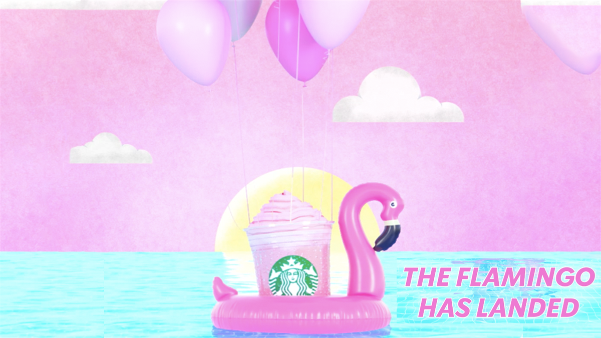 Starbucks Ruby Flamingo Frappuccino