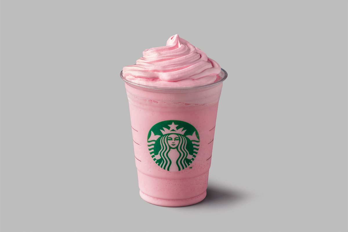 Ruby Flamingo Frappuccino