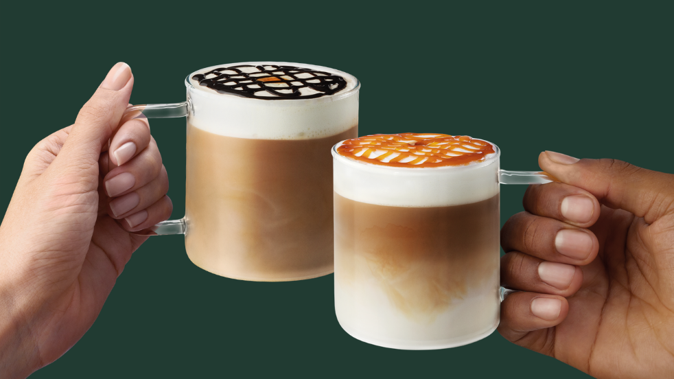 Starbucks Winter Macchiatos